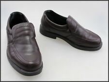 SLATTERS MENS SLIP ON BROWN LOAFERS SHOES SIZE 8.5