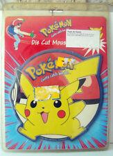 vintage Pokemon pikachu tapis de souris nintendo sous blister