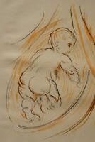 Othon Friesz: El Bebé - Litografía Original Firmada, 1949