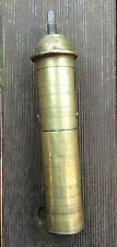Vintage Brass Manual Coffee Grinder