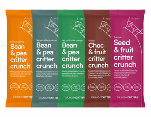 Crunchy Critters edible insects bugs taster bundle x 5 packs