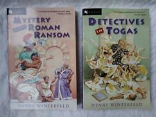 Henry Winterfeld Books Detectives In Togas, Mystery Of The Roman Ransom