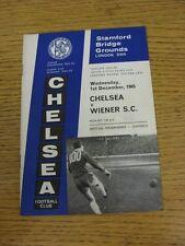 01/12/1965 Chelsea V Wiener SC [tra le città le fiere COPPA]. questo oggetto è stato INS