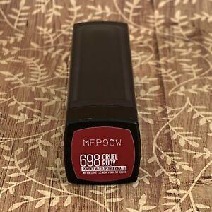 Maybelline New York Color Sensational Powder Matte Lipstick 698 Cruel Ruby