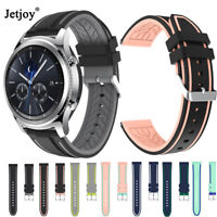 For Samsung Galaxy 46mm Gear S3 Classic Watch Replace Silica Bracelet Strap Band