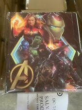 Set of 6 Avengers 2 Pocket, 3 Prong Poly Folders