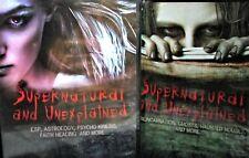 Supernatural Unexplained NEW!  2 DVD SET, Ghost Haunted House,ESP,Reincarnation