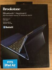 Brookstone Bluetooth Keyboard Case, compatible with iPad Air & iPad Air 2