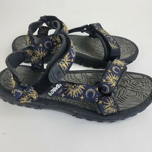 Teva Women's Tribal Sport Sandals 1360 Sun Moon Stars Women's SZ 8 Vintage