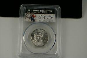 2008 PHILIP DIEHL SIGNED PCGS MS70 PLATINUM 1/2 OZ. $50 STATUE OF LIBERTY COIN.