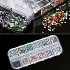 3600 pcs DIY Nail Art rhinestones decoration for uv gel acrylic systems 1.5mm US