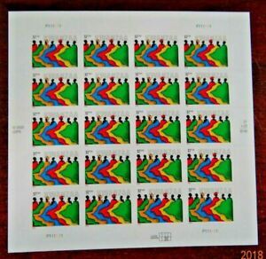 Scott #3881 $0.37 Kwanzaa Mint Sheet ( Face Value - $7.40 )