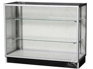 """48"""" Extra Vision Showcase Display Case Store Fixture Knocked Down #KD4G"""