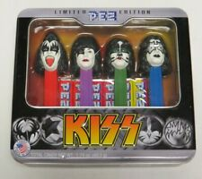 KISS PEZ SET SEALED IN TIN