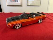 1970 Dodge Challenger R/T Pro Rodz Metallic Orange 1:24 Scale Diecast by Maisto