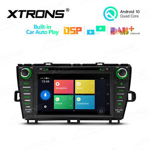 """8"""" Android 10.0 Car Stereo DVD Radio GPS Head Unit for Toyota Prius 2009-2013"""