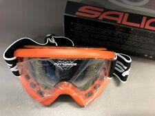 Occhiale maschera SALICE motocross quad enduro lente trasparente antifog