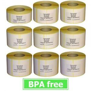 Thermoetiketten für BIZERBA - verschiedene Sorten - 12 bis 36 Rollen - BPA frei