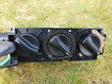 VW Passat B3 35i Heater controls