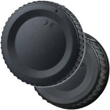 Objektivdeckel Rückdeckel Gehäusedeckel passend für Nikon DSLR F Bajonett