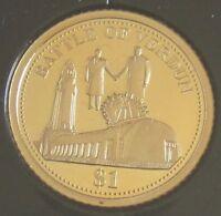 Salomonen 1 Dollar 2016 100 Jahre Schlacht um Verdun Gold