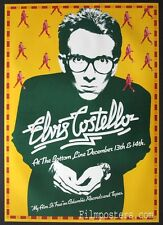 ELVIS COSTELLO MY AIM IS TRUE VINTAGE ORIG. 1977 TOUR POSTER