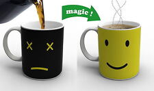 Magic Heat Cold Sensitive Cup Smiling Face Color Changing Mug Coffee Milk Cup