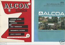 1947 1989 ALCOA Aluminum Co Building Products ASBESTOS History 3 Catalogs LOT
