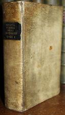 1781 Memorie Degli Architetti Antichi Moderni Tomo 1 Only Vellum Parma MILIZIA