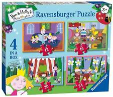 Ravensburger 4 Puzzles in a Box Ben & Holly 06957
