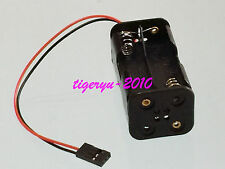 RC 4xAA Battery Holder (Futaba type) for LEDs Servo tester and RC Pack