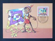 Svizzera MK libri per bambini PINOCCHIO maximum carta carte MAXIMUM CARD MC cm c8007