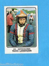 CAMPIONI dello SPORT 1973/74-Figurina n.210- LANSIVUORI - MOTOCICLISMO -Rec