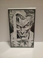 Batman Three Jokers Issue #1 1:100 Incentive Variant BW Comic Book with Card