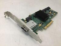 IBM LSI Molex SAS 9212-4i4e PCIe 6Gbs RAID Controller Adapter Card 46C8935