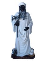 "Orisha 12""  Obatala[Oshala] Statue Yoruba Santeria Lucumi African God 656012"