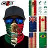 National Flag Neck Gaiter Warmer Face Masks Ski Scarf Bandana Fishing Balaclava