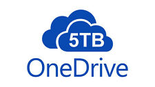 5TB OneDrive Cloud high capacity storage account