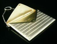 Antique Silver Gilt ENVELOPE Card Case, Birmingham 1916, Adie & Lovekin Ltd