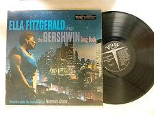 Ella Fitzgerald Lp GERSHWIN Song Book ~  Verve VG+
