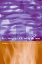 Psychology for Christian Ministry by Rebecca Nye, Sara Savage, Fraser N. Watts (
