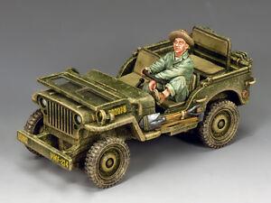 King & Country U.S. Marine Corps Jeep AF036