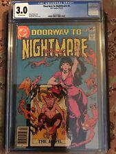 Doorway To Nightmare No 2 CGC 3.0