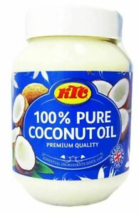 KTC 100% Pure Coconut Multipurpose Oil 500ml Jar - Used for Hair, Cooking, e.t.c