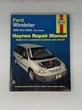 Haynes Manuals: Ford Windstar 1995 Thru 2003 36097