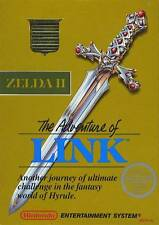 Zelda 2 The Adventure Of Link NES Great Condition Fast Shipping