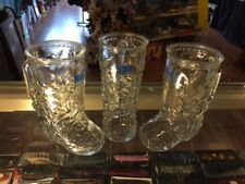 A SET OF 3 BOOT MUGS FROM THE NUGGET IN RENO, RENO'S AREA'S FAVORITE CASINO !!
