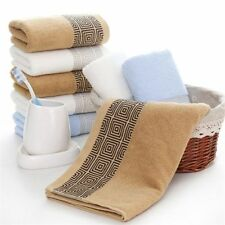 Soft Cotton Bath Towels Absorbent Luxury Functional Spa Hand Beach Face Towel