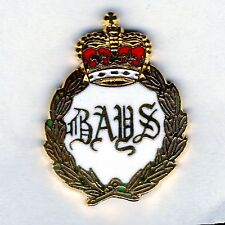 Enamel Lapel Badge  BAYS