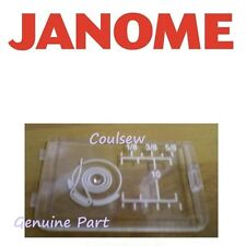JANOME diapositive plaque plastique bobine couvrir 350e 11000 12000 6600P 601 605 607 + Elna